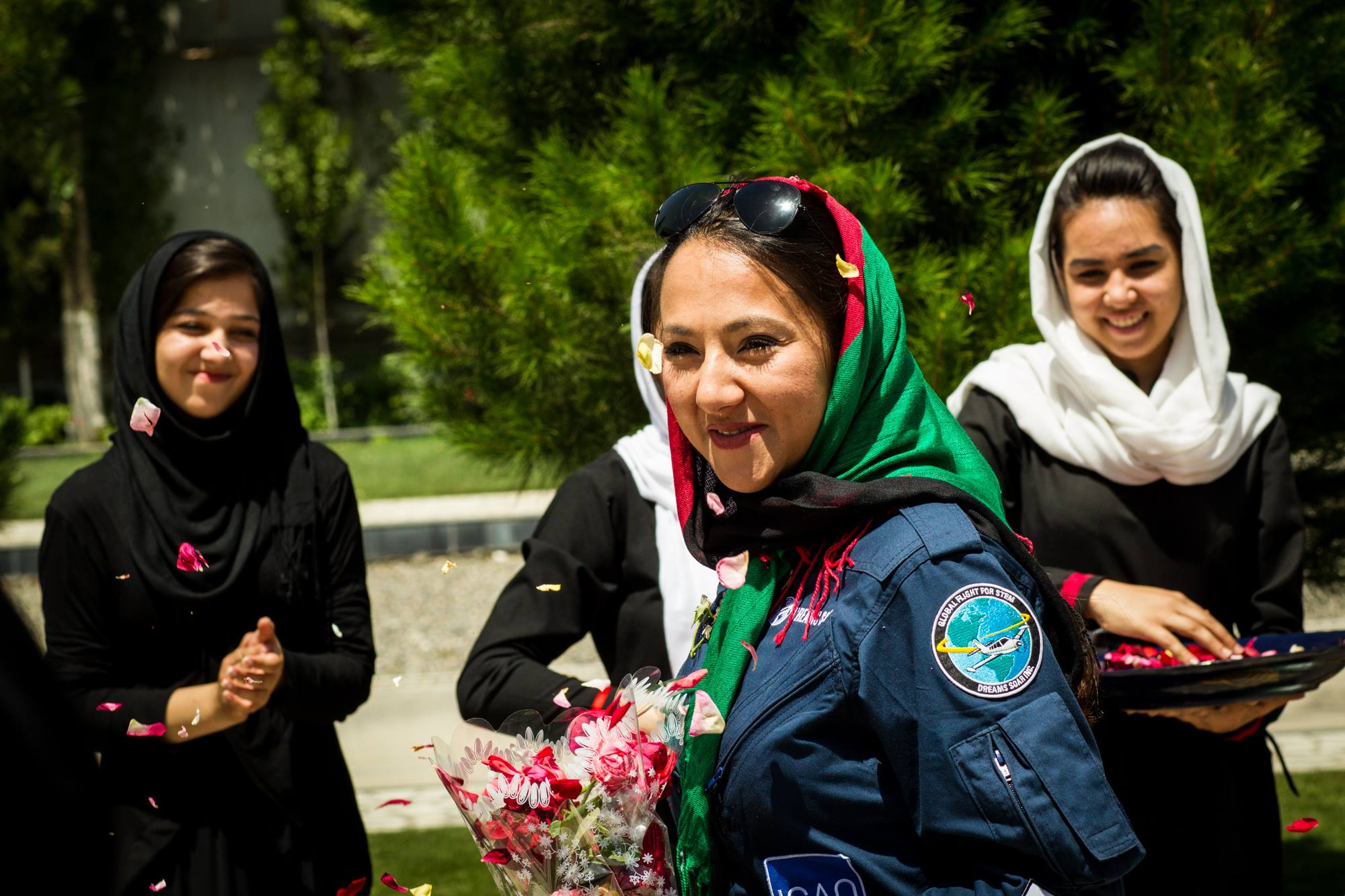 Shaista Waiz: The first Afghan woman to fly around the world is inspiring a generation of Afghan women