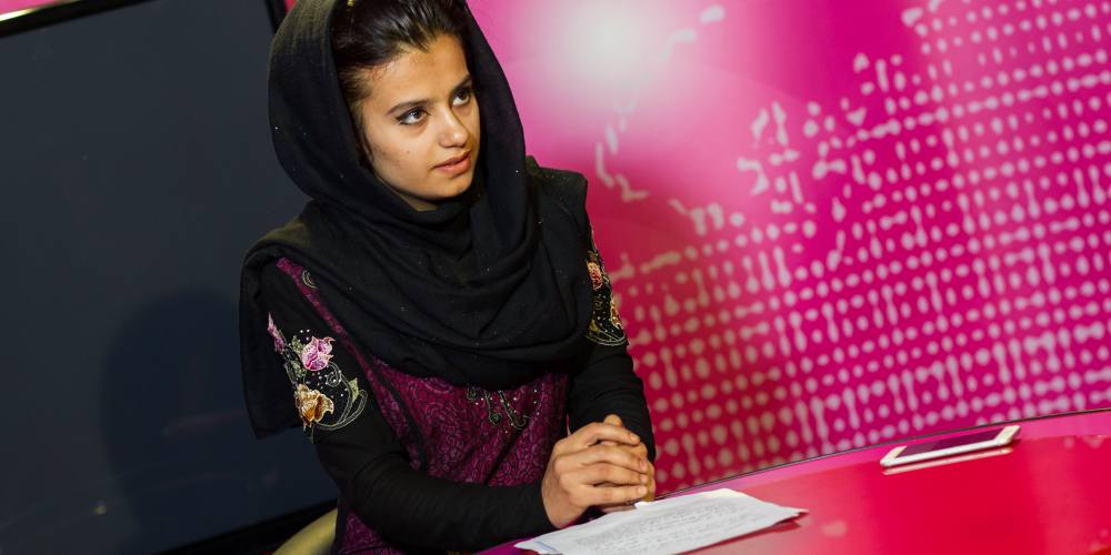 Women are taking charge of newsrooms in Afghanistan so they can finally tell their own stories.