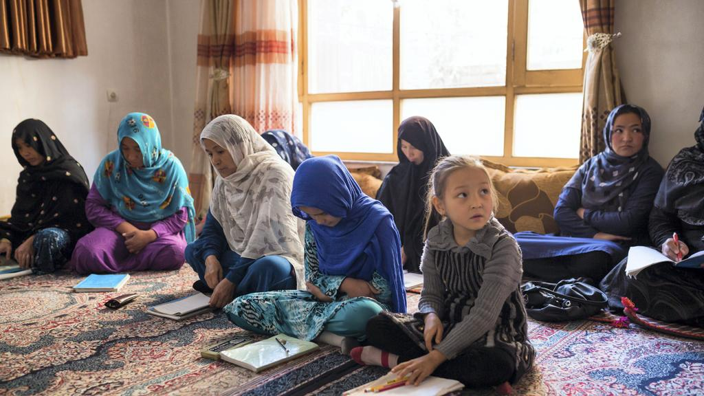 Alternative schooling opens doors for Afghan girls and women