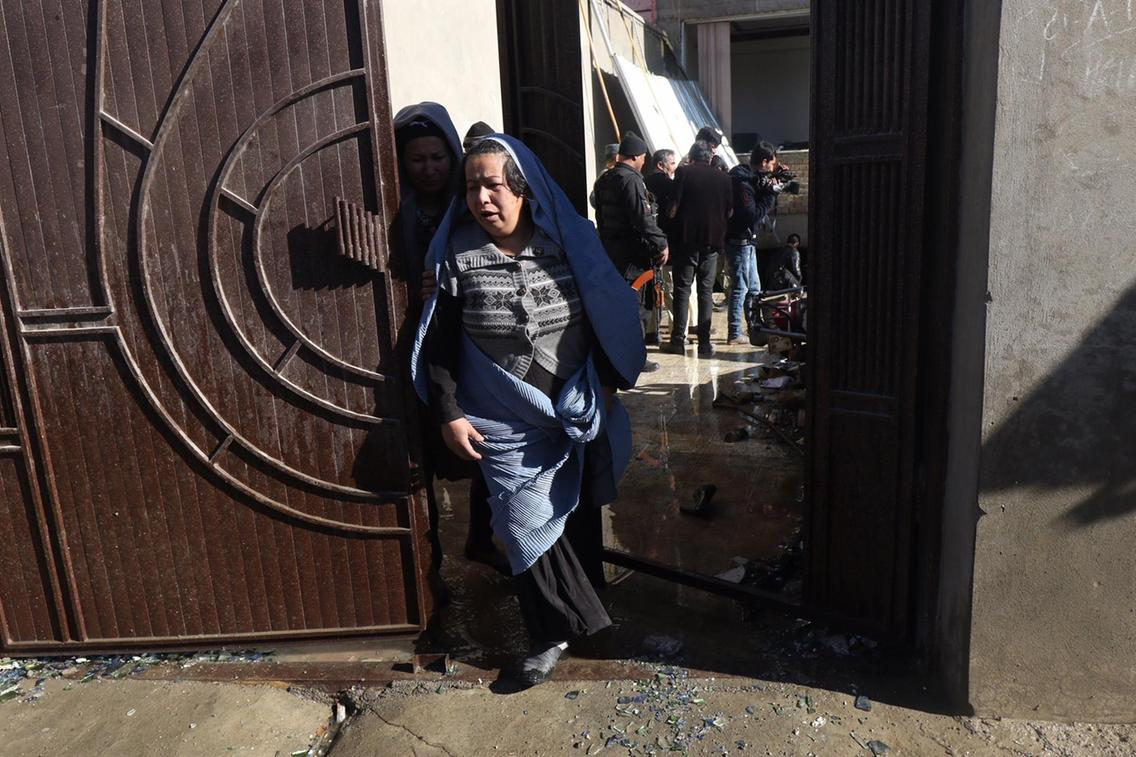 At least 40 dead in blast at a Shiite cultural centre in Kabul