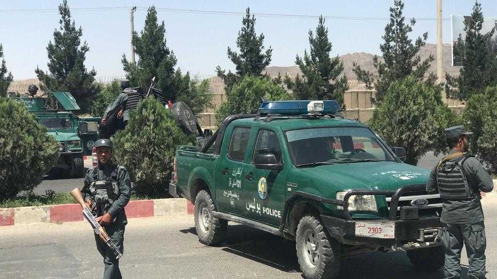 Afghan forces kill repel attack on interior ministry in Kabul