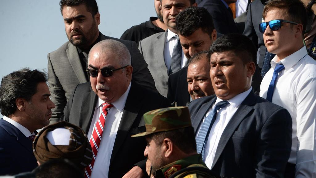 Return of exiled Afghan vice president divides country