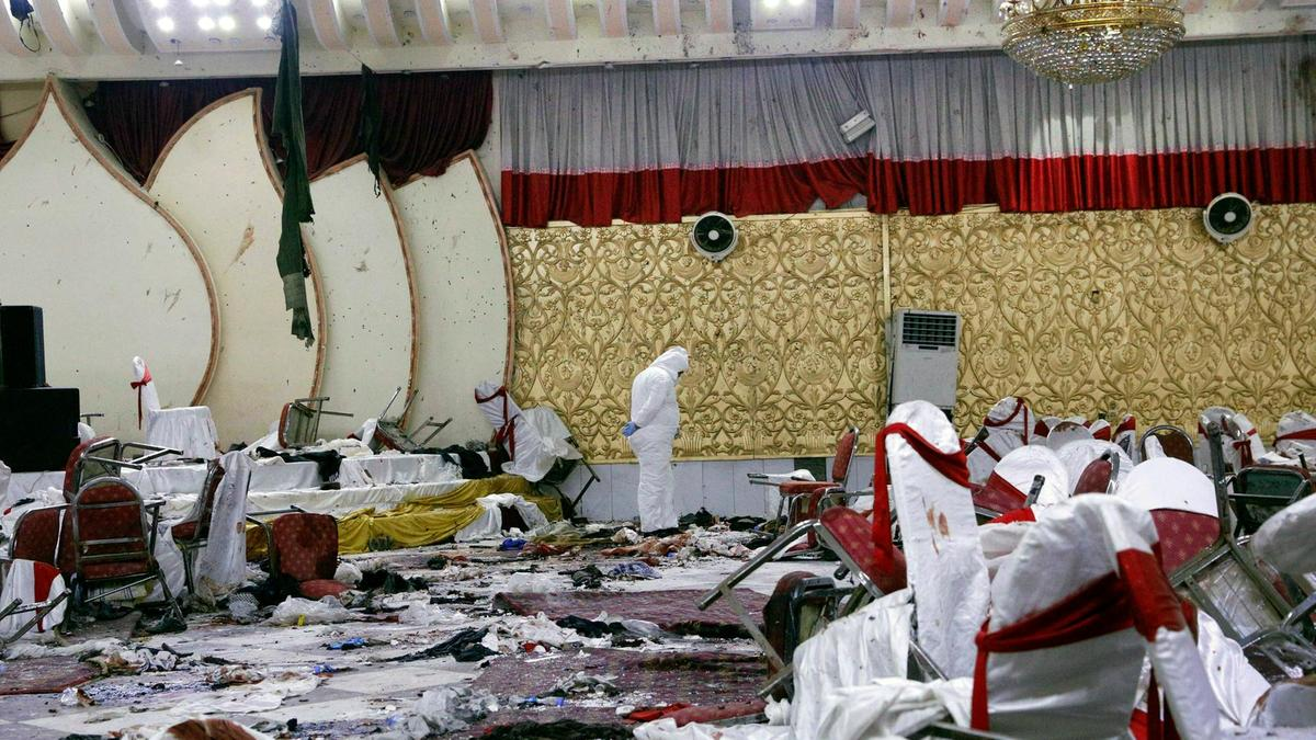 Kabul reels in grief after wedding hall attack