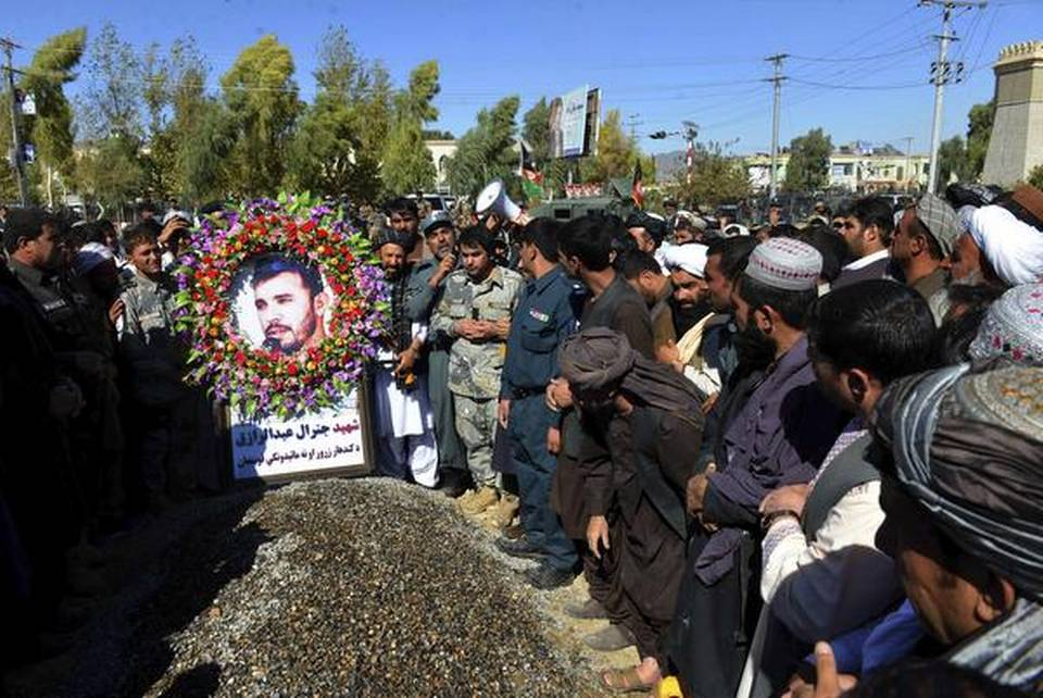 Death of an Afghan strongman
