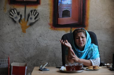 Inside Mother Camp: the woman tackling Afghanistan's drug problem