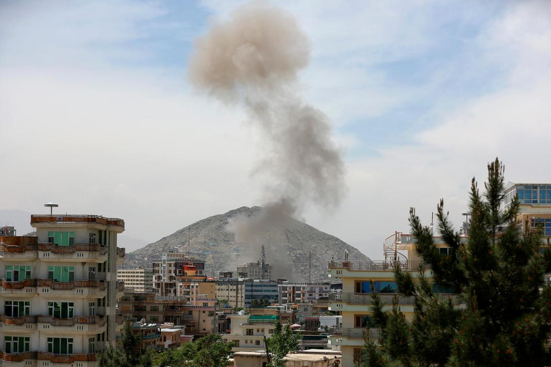 Taliban car bomb strikes US-funded Counterpart International in central Kabul
