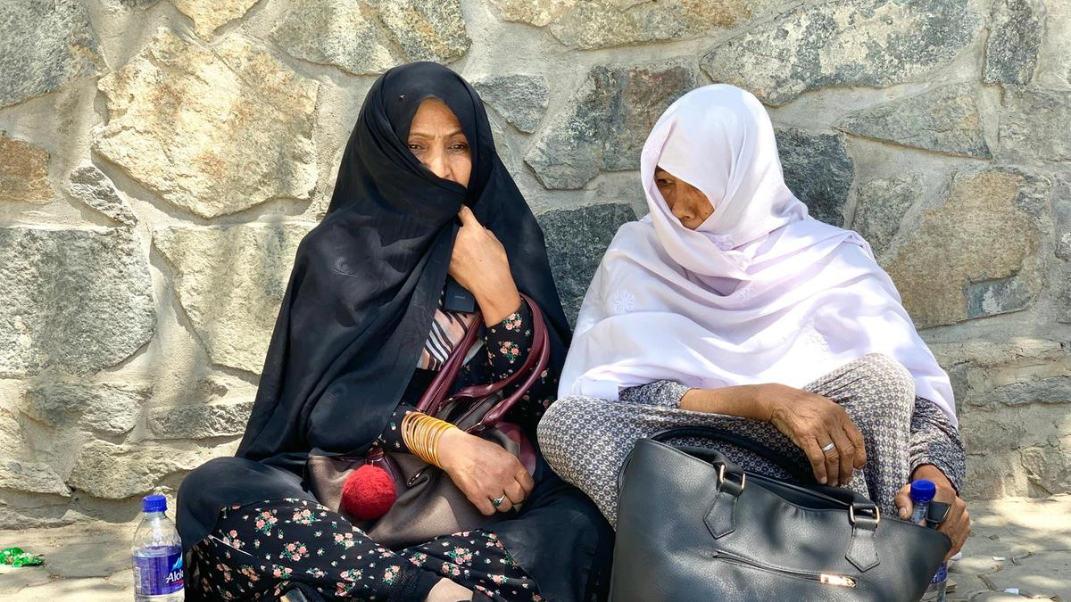 Kabul wedding bomb survivors nervously await news of loved one