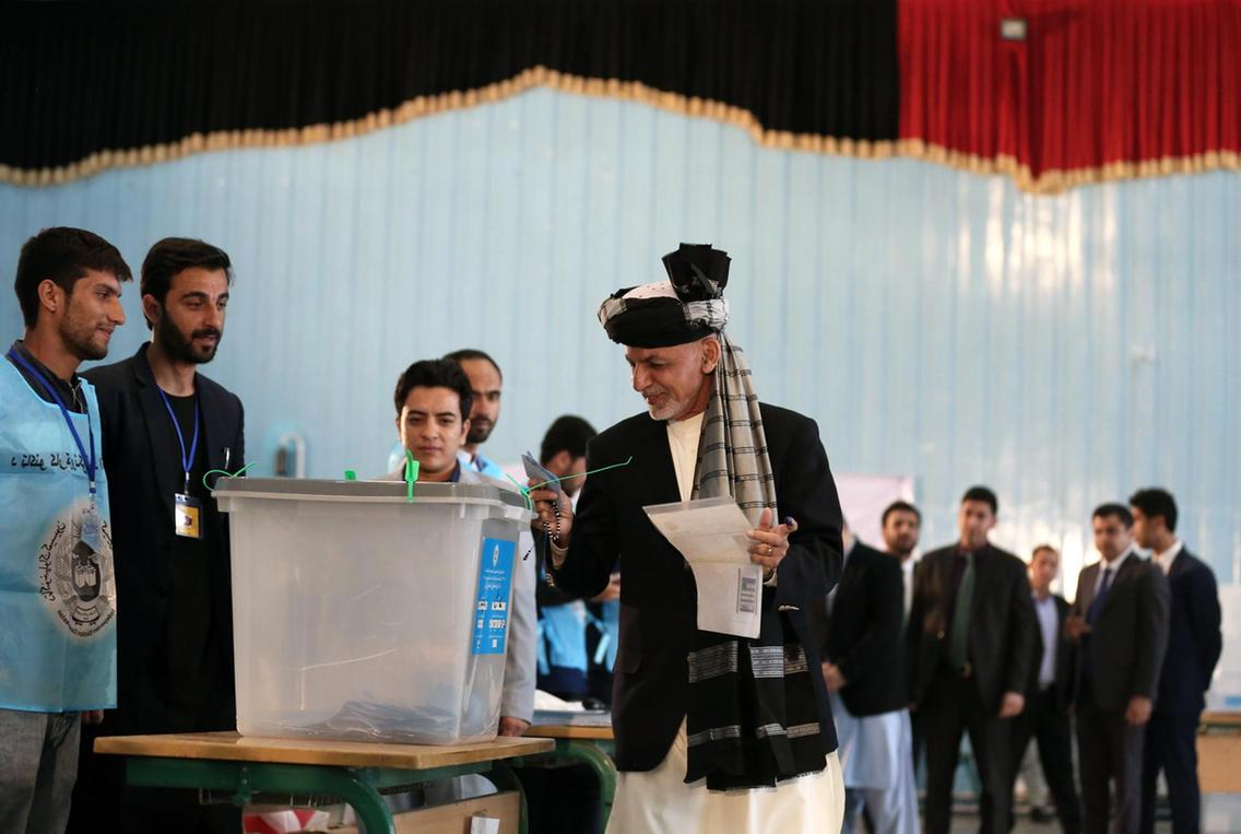 Afghan elections: Ashraf Ghani set for victory after preliminary results